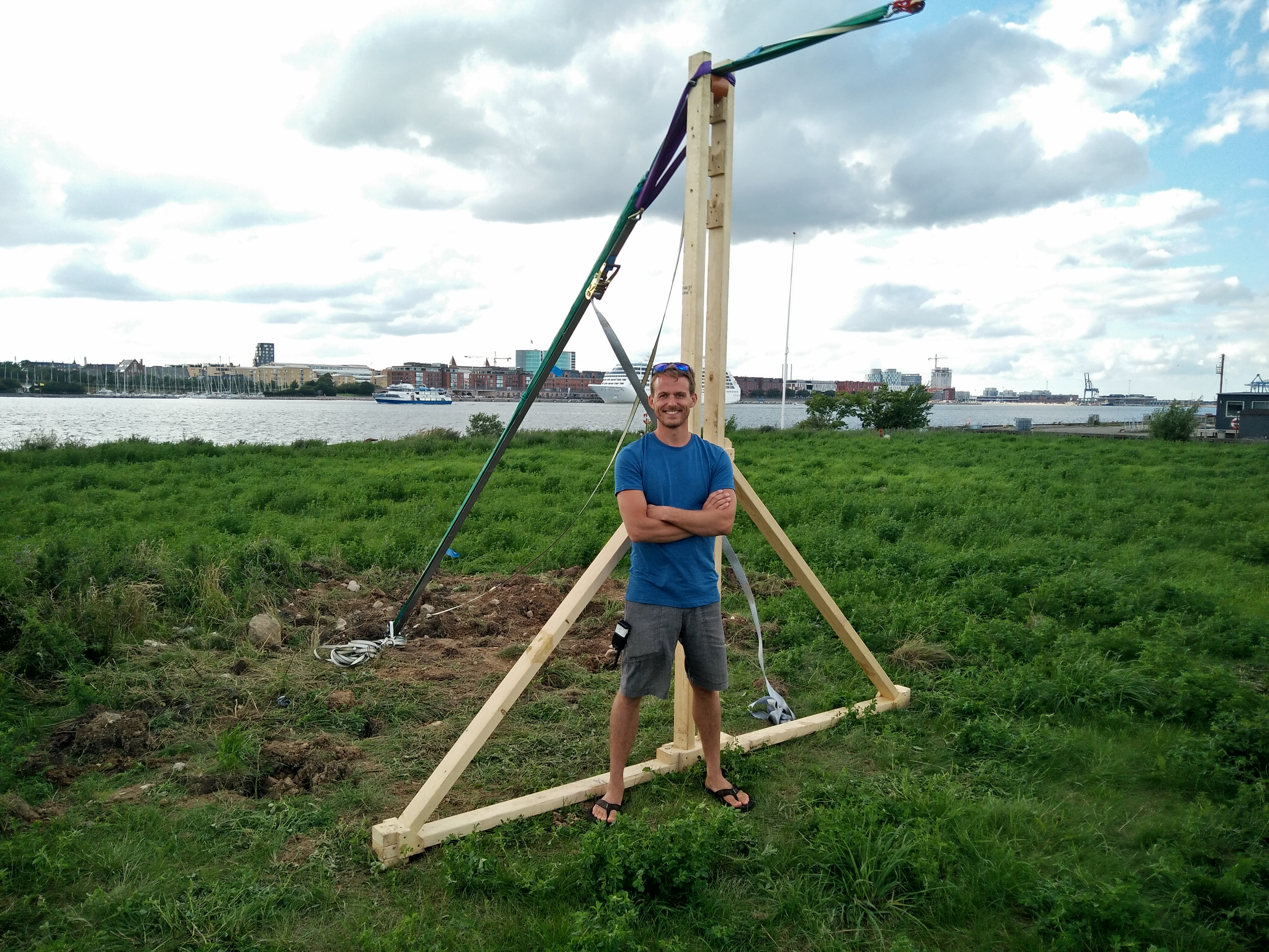 Stowable Slackline A-frame – Northern Edge Crew